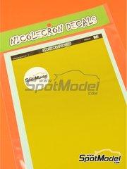 Nicolecron Decals: Decals - Kevlar fiber - water slide decals image