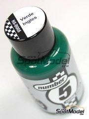 Number Five: Enamel paint - British Green