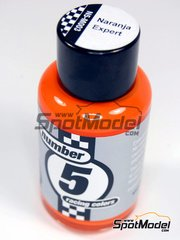 Number Five: Enamel paint - Expert Orange - 50ml