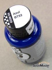 Number Five: Enamel paint - BT52 Blue