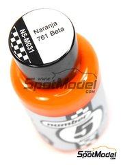 Number Five: Enamel paint - Orange 761 Beta