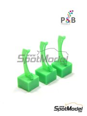 P and B Models: Lights 1/24 scale - Cabin light - resin parts - 3 units