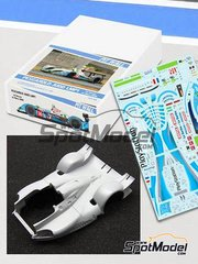 Pit Wall: Transkit 1/24 scale - Pescarolo Judd LMP1 PlayStation #16 - 24 Hours Le Mans 2009 - for SimilR kit SIMILR-151105