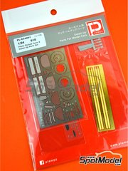 Plamoz: Detail up set 1/24 scale - Porsche 918 Spyder - photo-etched parts, resin parts, other materials and assembly instructions - for Revell references REV07026, 07026, 80-7026, REV07027, 07027 and 80-7027
