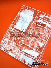 Platz: Spare part 1/24 scale - BMW M6 GT3: Sprue B - plastic parts - for Platz reference PN24001