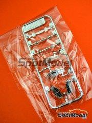 Platz: Pieza de reemplazo escala 1/24 - BMW M6 GT3: Partes E - piezas de plástico - para la referencia de Platz PN24001