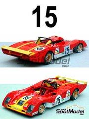 Profil24: Model car kit 1/18 scale - Ferrari 312PB