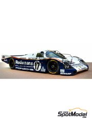 Profil24: Model car kit 1/24 scale - Porsche 962C
