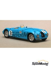 Profil24: Model car kit 1/24 scale - Bugatti Tanks 57 C #1 - 24 Hours Le Mans 1939 - resin multimaterial kit