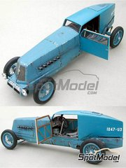 Profil24: Model car kit 1/24 scale - Renault 40 HP record 1926 - resin multimaterial kit