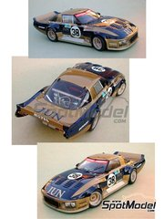 Profil24: Model car kit 1/24 scale - Mazda RX7 JUN #38 - Yojiro Terada (JP) + Win Percy (GB) + Hiroshi Fushida (JP) - 24 Hours Le Mans 1981 - resin multimaterial kit