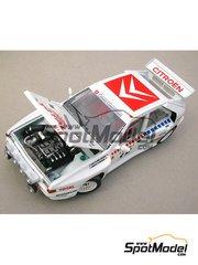Profil24: Model car kit 1/24 scale - Citroen BX 4TC