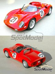 Profil24: Model car kit 1/24 scale - Ferrari 250P #21 - 24 Hours Le Mans 1963 - resin multimaterial kit