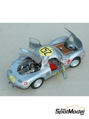 Profil24: Model car kit 1/24 scale - Porsche 550 Spyder coupe #152 - Carrera Panamericana 1953 - resin multimaterial kit