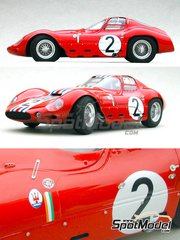Profil24: Model car kit 1/24 scale - Maserati Tipo 151/1 #2 - 24 Hours Le Mans 1963 - resin multimaterial kit