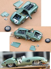 Profil24: Model car kit 1/24 scale - Aston Martin DBR1 #4, 5, 6 - 24 Hours Le Mans 1959 - resin multimaterial kit