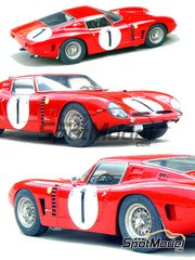 Profil24: Model car kit 1/24 scale - Bizzarrino Iso Grifo Rivolta #1 - 24 Hours Le Mans 1964 - resin multimaterial kit