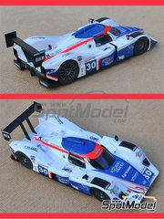 Profil24: Model car kit 1/24 scale - Lola B09/80 Racing Box Forno DAsolo #30 - Thomas Biagi (IT) + Matteo Bobbi (IT) + Andrea Piccini (IT) - 24 Hours Le Mans 2009 - resin multimaterial kit