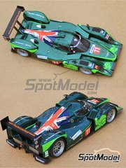 Profil24: Model car kit 1/24 scale - Lola B09/60 DBR1-2 Drayson Racing #8, 11 - Paul Dryson (GB) + Jonny Cocker (GB) - 24 Hours Le Mans 2010 - resin multimaterial kit