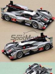 Profil24: Model car kit 1/24 scale - Audi R18 TDI #1, 2, 3 - 24 Hours Le Mans 2010 - resin multimaterial kit
