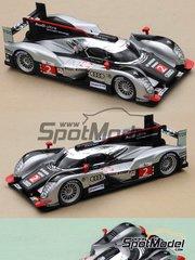 Profil24: Model car kit 1/24 scale - Audi R18 TDI #1, 2, 3 - 24 Hours Le Mans 2010 - resin multimaterial kit