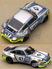 Profil24: Model car kit 1/24 scale - Porsche 911 Carrera Martini Racing #47 - Reinhold Joest (DE) + Claude Haldi (CH) - 24 Hours Le Mans 1973 - resin multimaterial kit