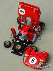 Profil24: Model car kit 1/43 scale - Ferrari 512S #6, 7, 8 - 24 Hours Le Mans 1970 - resin multimaterial kit