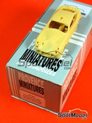 Provence: Model car kit 1/43 scale - TVR Tuscan 400R Racesport Peninsula #95 - 24 Hours Le Mans 2005 - resin multimaterial kit
