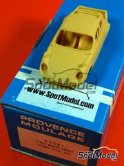 Car kit 1/43 by Provence - Simca Abarth 2000GT 1963 - resin multimedia car kit image