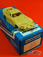 Car kit 1/43 by Provence - Dodge Viper DDO - # 1 2001 - resin multimedia car kit image