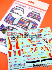 Racing Decals 43: Decals 1/24 scale - Subaru Impreza WRC Airtel #29 - Luis Climent (ES) + Alex Romaní (ES) - Sanremo Rally 1998 - for Tamiya kit