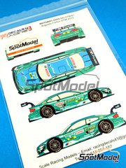 Racing Decals 43: Marking / livery 1/24 scale - BMW M3 Castrol #7 - Augusto Farfus (BR) - DTM 2013 - water slide decals and assembly instructions - for Revell kits REV07082 and REV07178 image