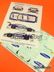 Racing Decals 43: Marking / livery 1/24 scale - BMW M3 Samsung #2 - Joey Hand (US) - DTM 2012 - water slide decals and assembly instructions - for Revell references REV07082, 07082, 80-7082, REV07178, 07178 and 80-7178