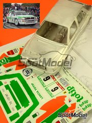 Racing43: Model car kit 1/24 scale - Lancia Delta Integrale HF Totip #6 - Andrea Aghini (IT) + Sauro Farnocchia (IT) - Portugal Rally 1993 - metal model kit
