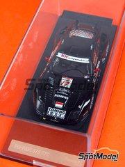 Diecast 1/43 by Racing43 - Ferrari 575 GTC  - Wendlinger + Melo - Donington 2004 image