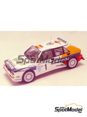 Racing43: Model car kit 1/43 scale - Lancia Delta Integrale HF Repsol #1 - Carlos Sainz (ES) - Montecarlo Rally 1993