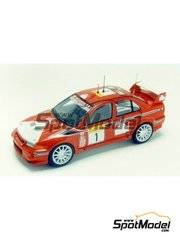 Racing43: Model car kit 1/43 scale - Mitsubishi Lancer Evo VI - Montecarlo Rally 2000