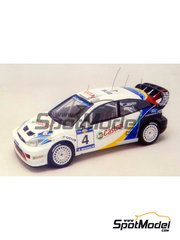 Racing43: Model car kit 1/43 scale - Ford Focus WRC - Acropolis rally