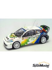 Racing43: Model car kit 1/43 scale - Ford Focus WRC BP - Montecarlo Rally 2004