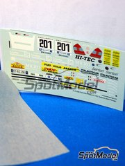 Racing43: Marking / livery 1/43 scale - Fiat Stilo Abarth Hi-Tec Salento 2004
