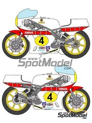 Ragged Edge Designs: Decals 1/12 scale - Yamaha YZR500 Yamaha #4 - Johnny Cecotto (VE) - World Championship 1979
