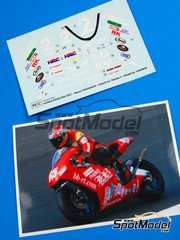 Ragged Edge Designs: Decals 1/12 scale - Honda RS250RW BB-RT #2 - Takumi Takahashi (JP) - World Championship 2008