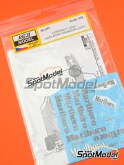 Reji Model: Marking / livery 1/20 scale - Ferrari F1 2000 Marlboro 2000 - water slide decals and assembly instructions - for Tamiya references TAM20048, 20048, TAM20049 and 20049