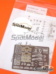 Reji Model: Photo-etched parts 1/24 scale - Audi Quattro Rally 1981, 1982 and 1983 - for Revell reference REV07246, or Tamiya reference TAM24036