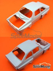 Reji Model: Bodywork 1/24 scale - Ford Escort Mk. II Zakspeed RS1800 - resin parts - for ESCI references 3009, 3021 and 3049, or Italeri references 3650 and 3655, or Revell references REV07374 and 7374
