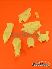 Reji Model: Transkit 1/12 scale - Yamaha YZR-M1 2006 - resin parts - for Tamiya kits TAM14104 and TAM14105