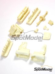 Reji Model: Engine 1/24 scale - Lancia Stratos HF - resins - for Hasegawa kits 20217, 20268, 20282, 25032, 25036, HACR32 and HACR33, or Italeri kit 3654