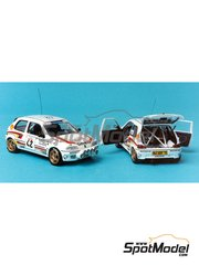 Renaissance Models: Model car kit 1/43 scale - Peugeot 106 Xsi #2 - Gilles Panizzi (FR) + Hervé Panizzi (FR) - Tour de Corse 1993 - resin multimaterial kit