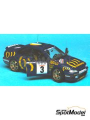 Renaissance Models: Model car kit 1/43 scale - Subaru Impreza WRC 555 - Tour de Corse 1994 - resin multimaterial kit