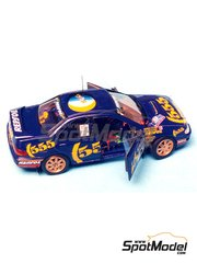 Renaissance Models: Model car kit 1/43 scale - Subaru Impreza WRC 555 #2 - Colin McRae (GB) + Derek Ringer (GB) - New Zealand rally 1994 - resin multimaterial kit